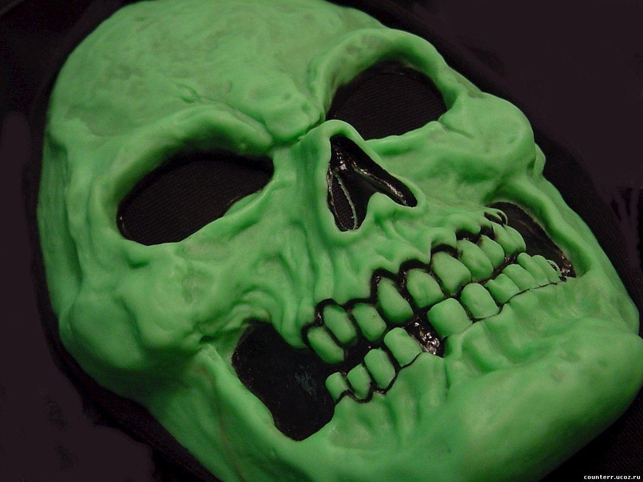 Как сделать ужасную маску своими руками